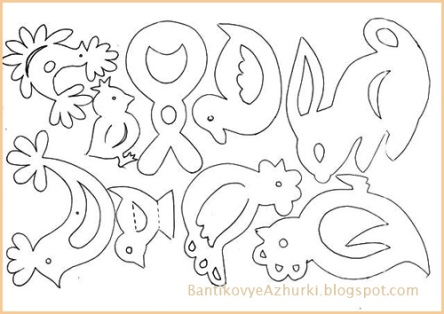Поделки на Пасху из бумаги своими руками