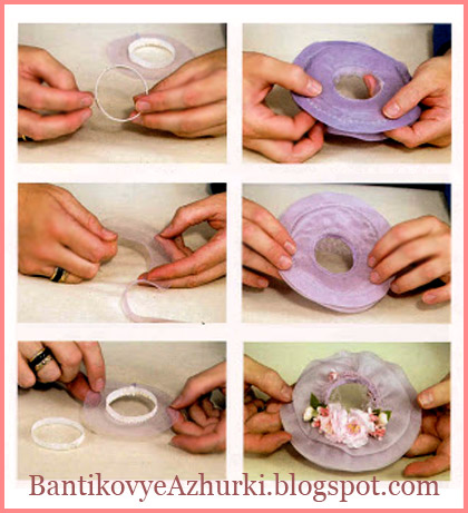 Как сделать нежную сиреневую шляпку для куклы