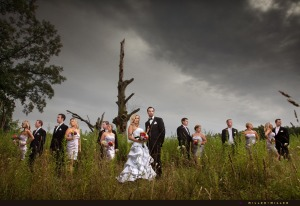 dramatic-bridal-party-group-photographs