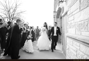 just-married-exiting-church