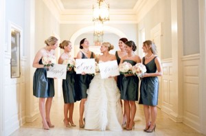 Short-Dark-Teal-Gray-Bridesmaids-Dresses-1-600x397